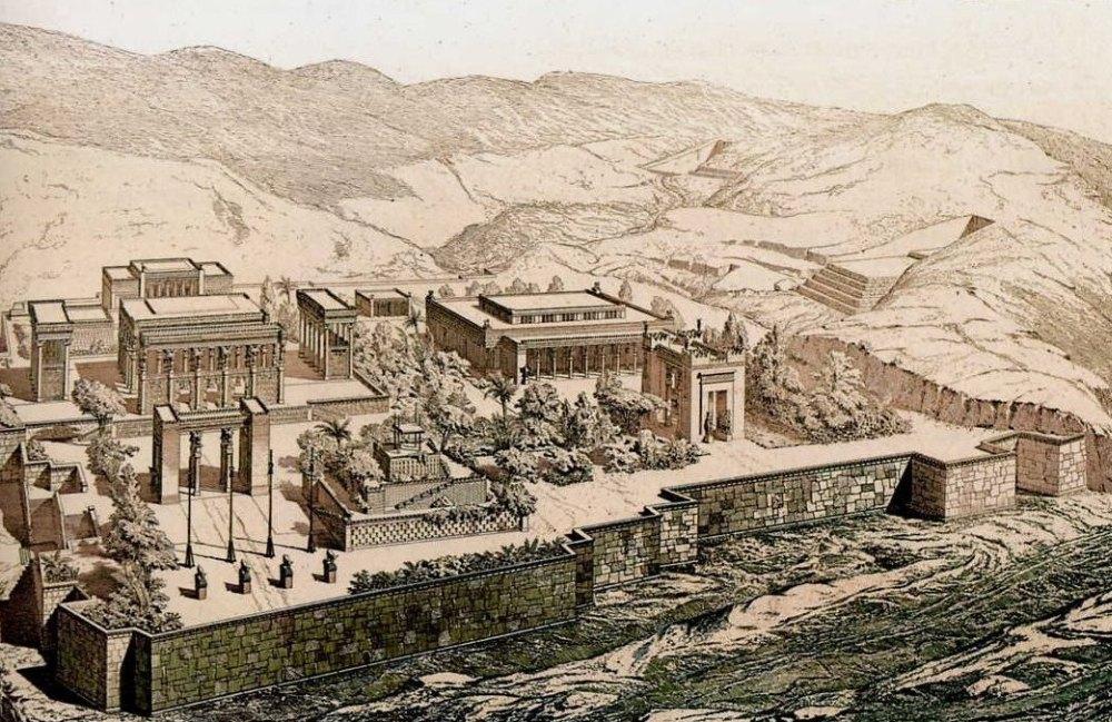 Реконструция Персеполя