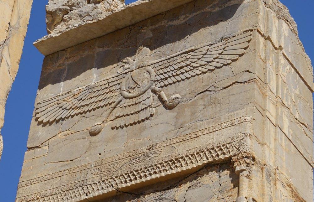 Архитектура Персеполиса доступна туристам
