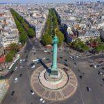 Площадь Бастилии в Париже