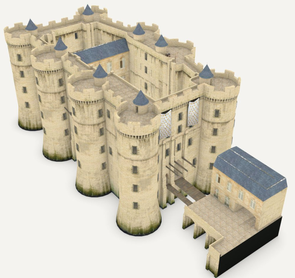Модель крепости-тюрьмы