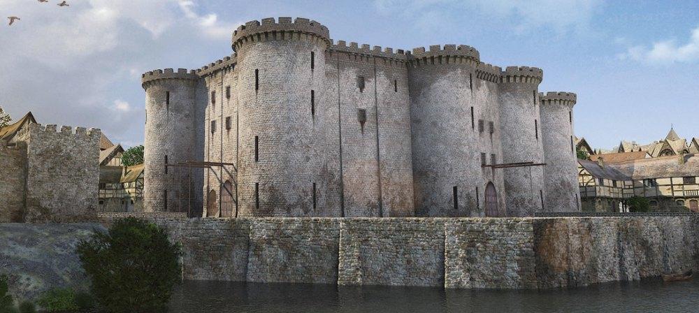 Реконструкция Бастилии