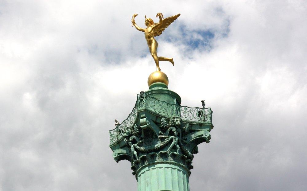 Золотой Ангел «Дух Свободы»