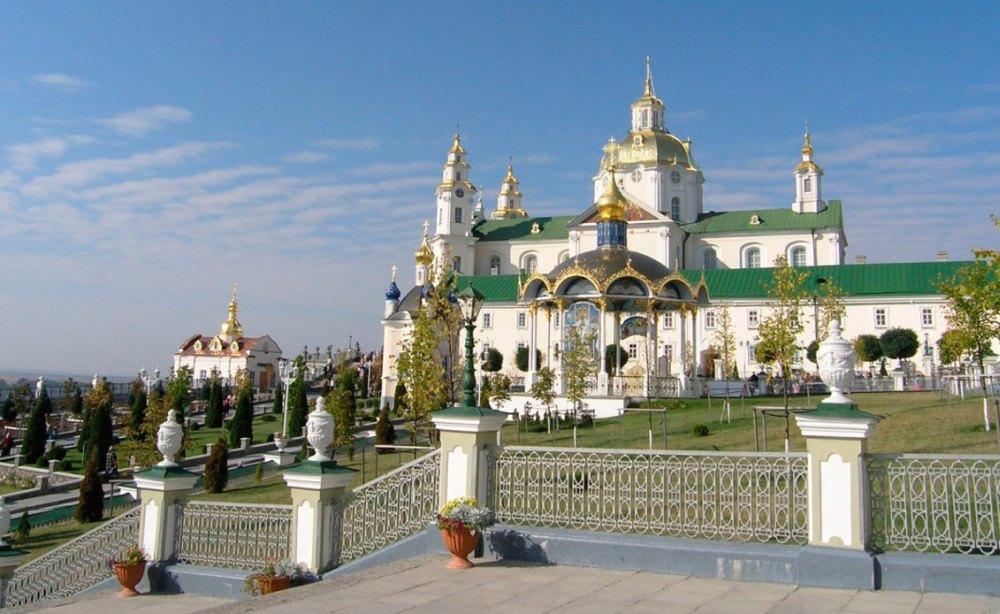 Храм Свято-Успенского Почаевского монастыря
