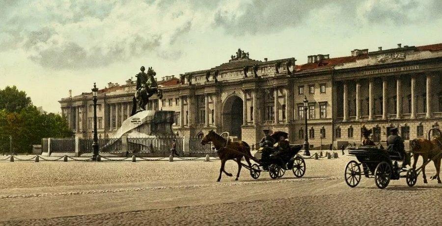 Сенатская площадь, 19 век