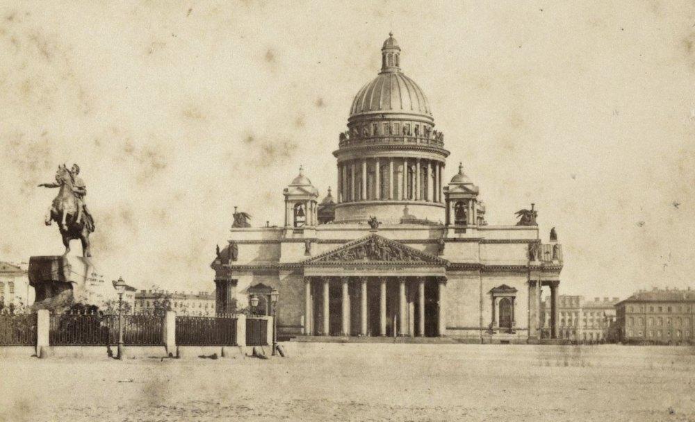 Исаакиевский собор в 19 веке