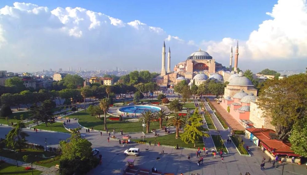 Площадь Султанахмет, общий вид