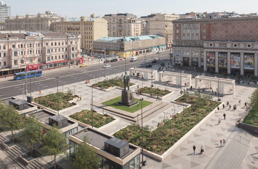 Триумфальная площадь после реконструкции