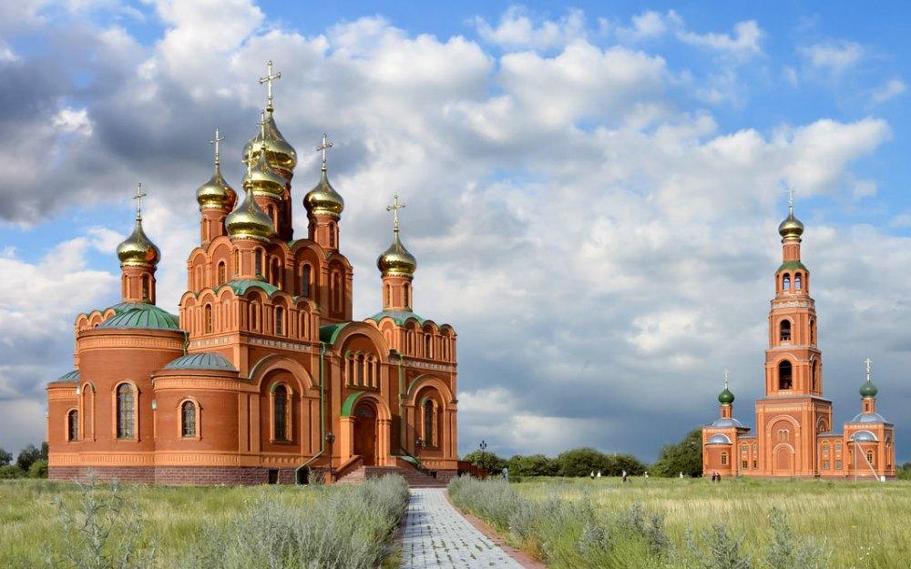 Ачаирский монастырь под Омском