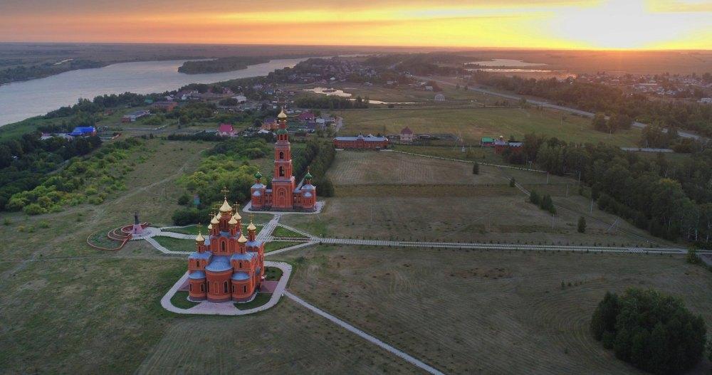 Территория Ачаирского монастыря