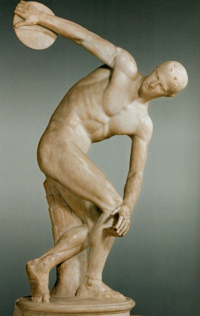 «Дискобол» древнегреческого мастера Мирона