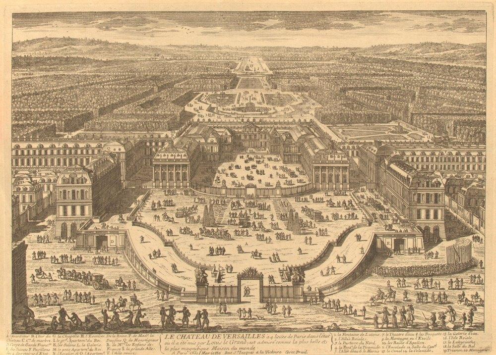 Версаль в 17 веке