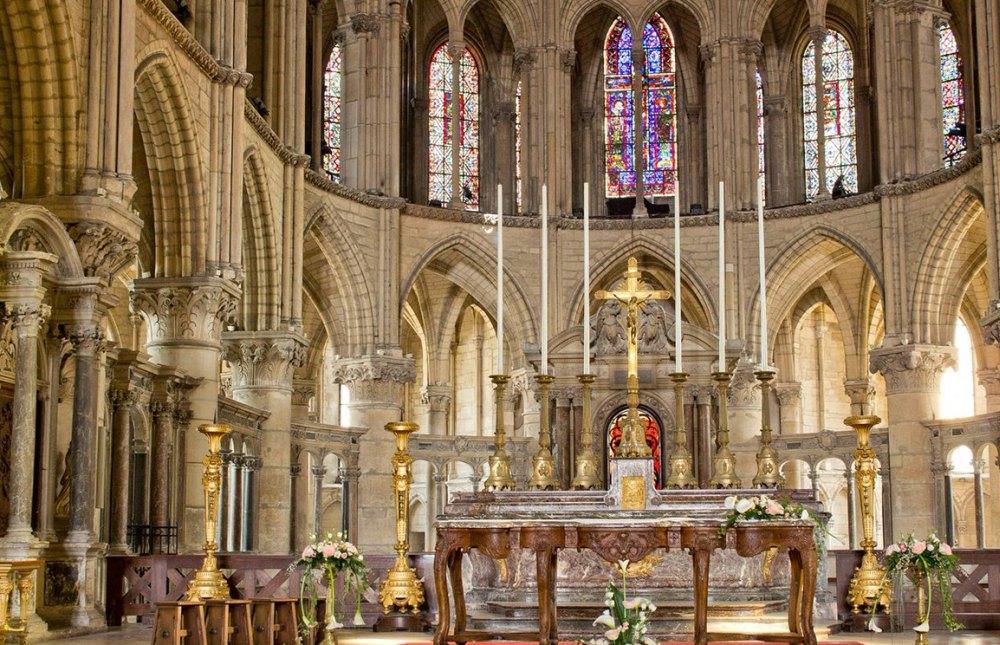 Интерьер Реймского собора