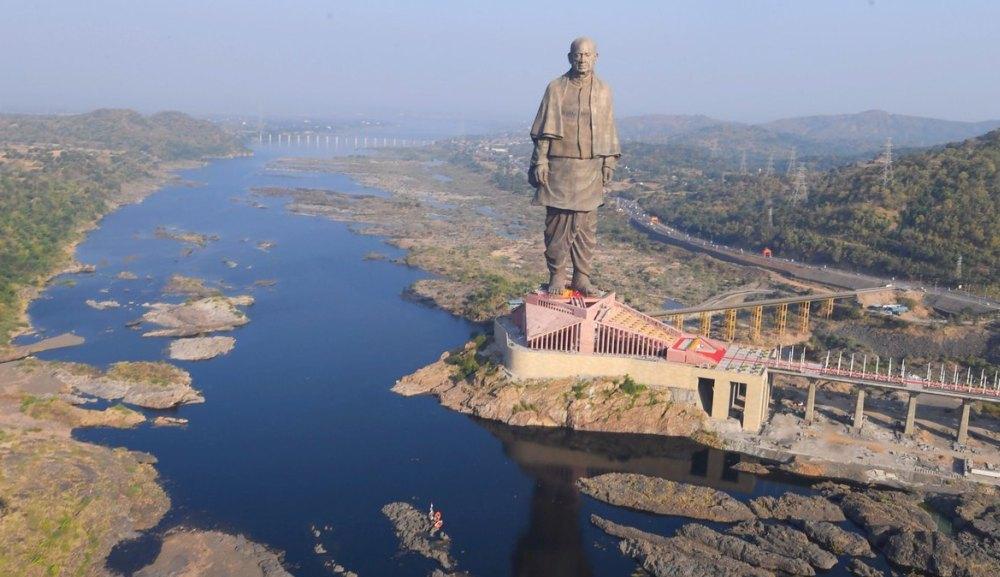 Памятник Сардару Валлабхаи Пателю в Индии