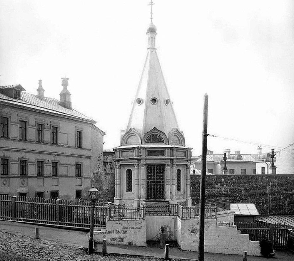 Алексеевская часовня, где останавливался Алексий, архивное фото