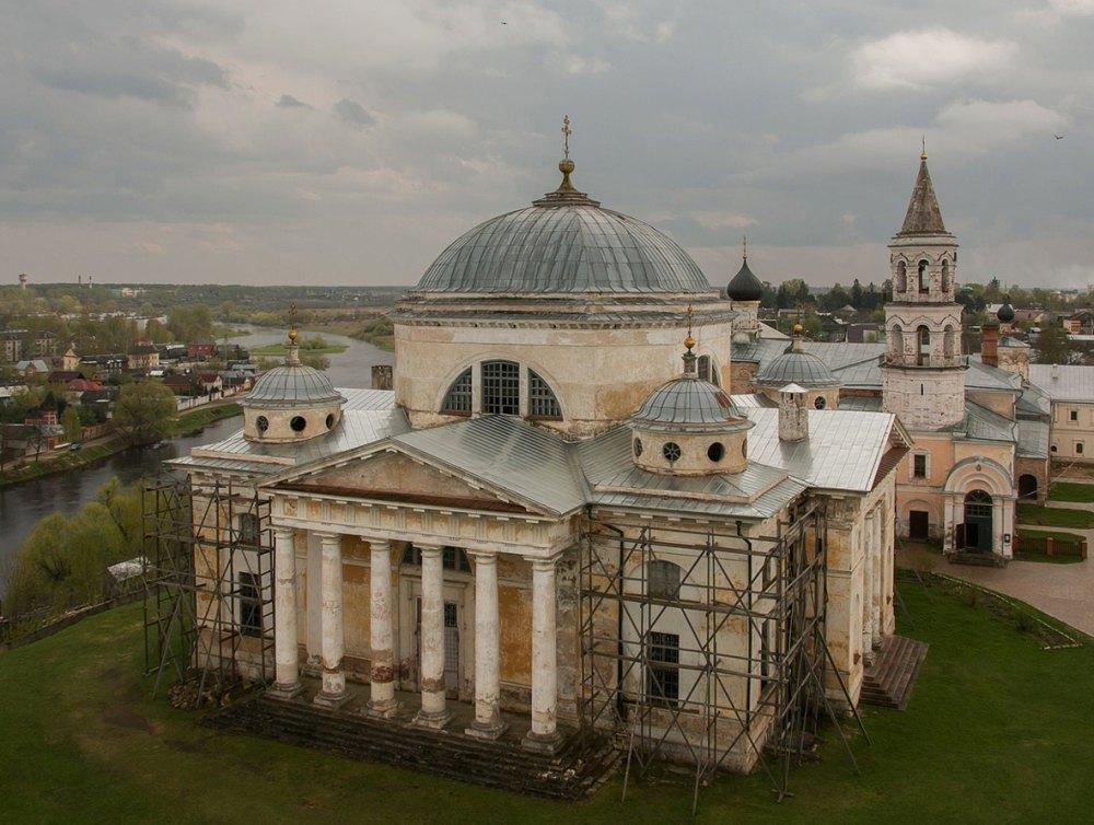 Реставрация храма Бориса и Глеба