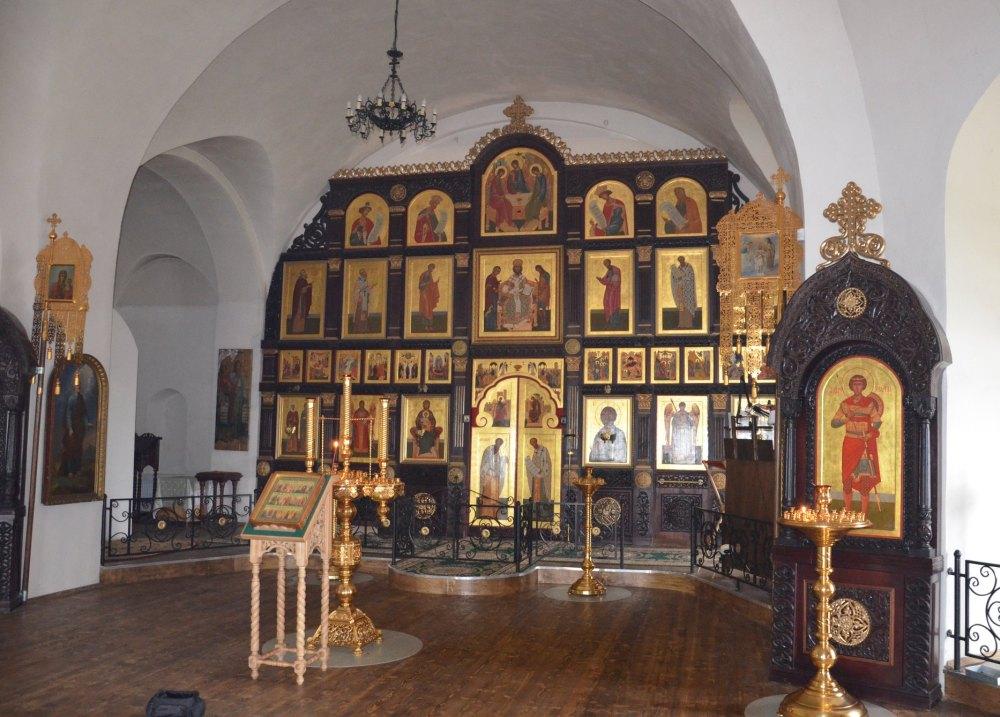 Борисоглебский собор внутри