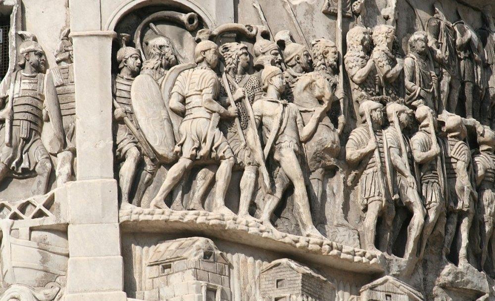Фигуры воинов