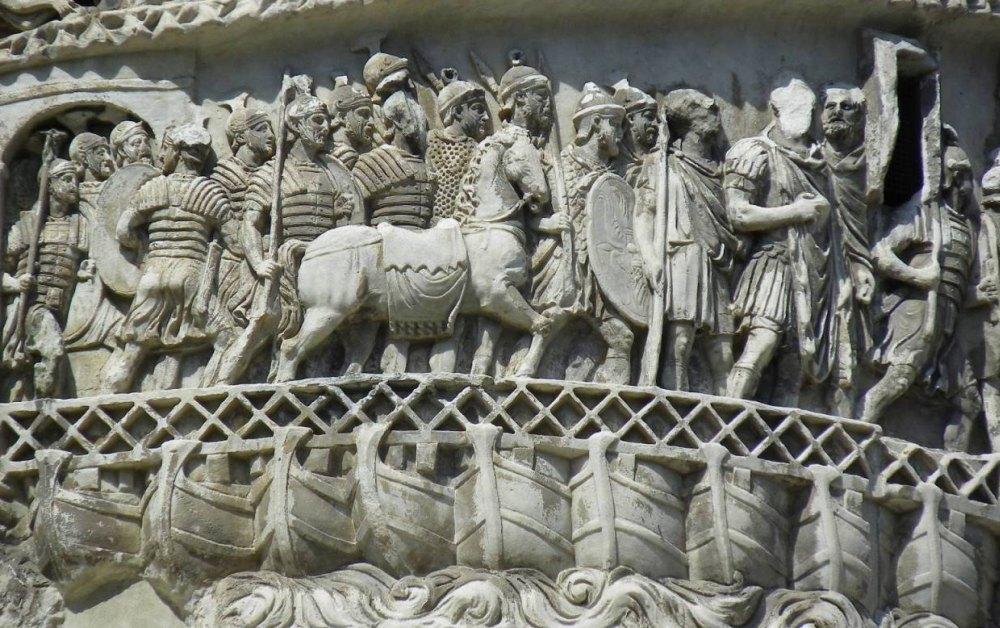 Летопись сражений в камне