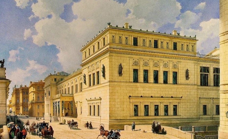 Новый Эрмитаж в 19 веке
