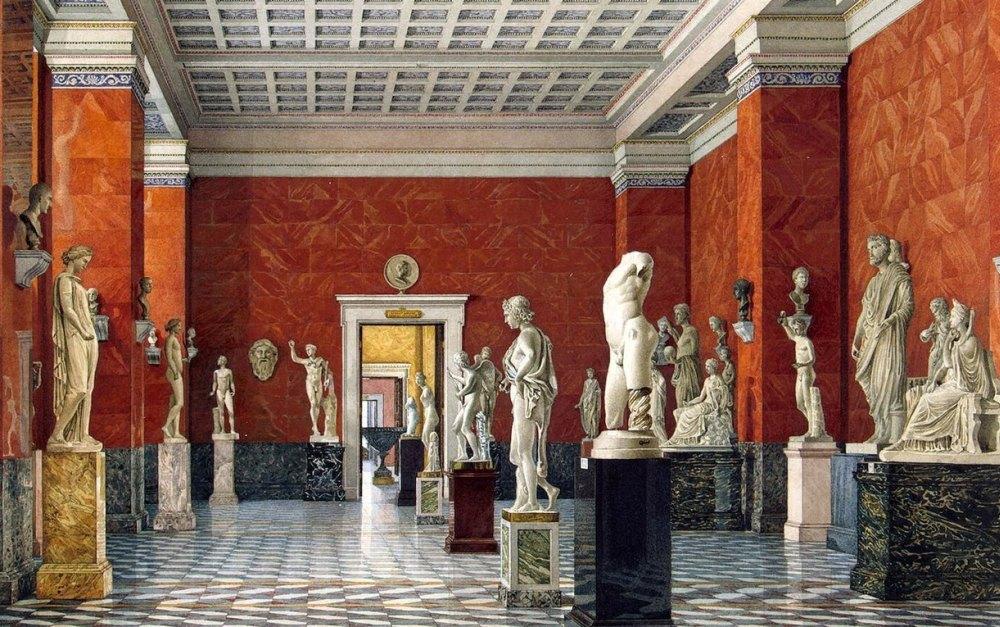 Скульптуры Античных залов