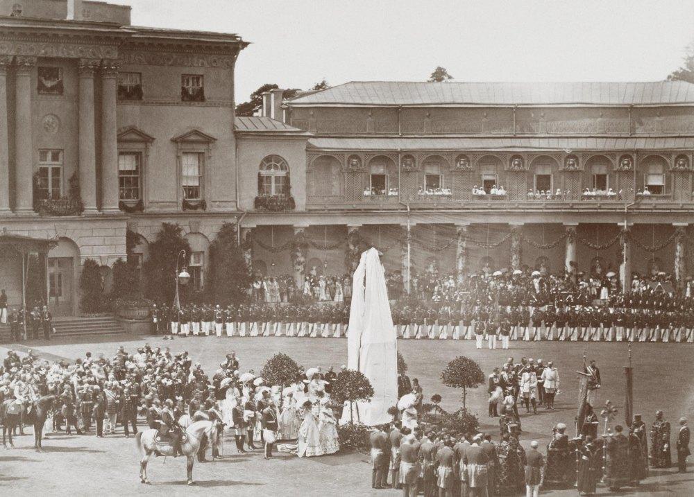Открытие памятника Павлу I