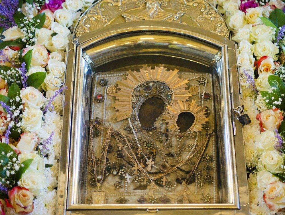 Чудотворная Грузинская икона Божьей Матери