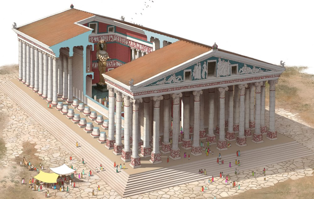 Храм эфесской Артемиды