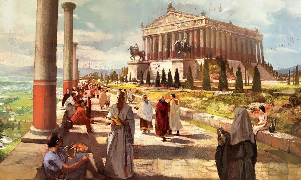 Храм античного мира