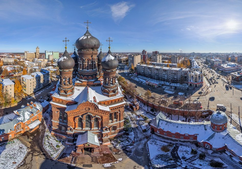 Введенский женский монастырь в Иваново
