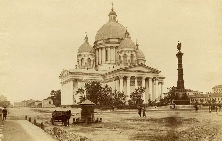 Собор лейб-гвардии Измайловского полка, архив, 19 век