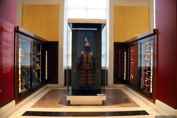 Экспонаты Британского музея в Лондоне