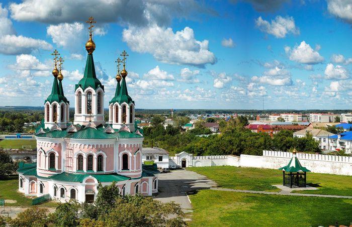 Успенский мужской монастырь Шадринской епархии Русской православной церкви