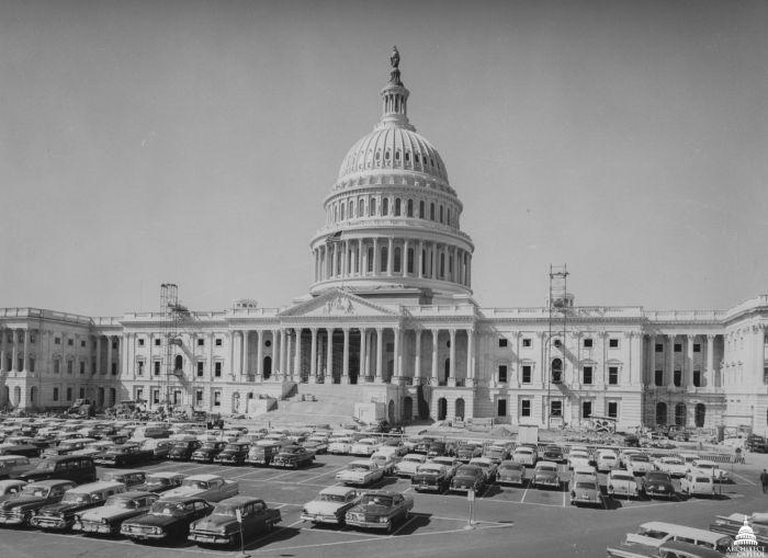 Капитолий в 50-е годы