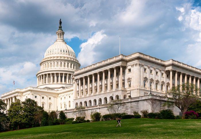 Соврменное здание Конгресса США