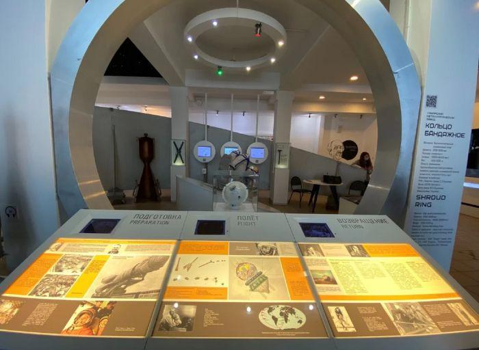 Экспозиция музея Самара космическая