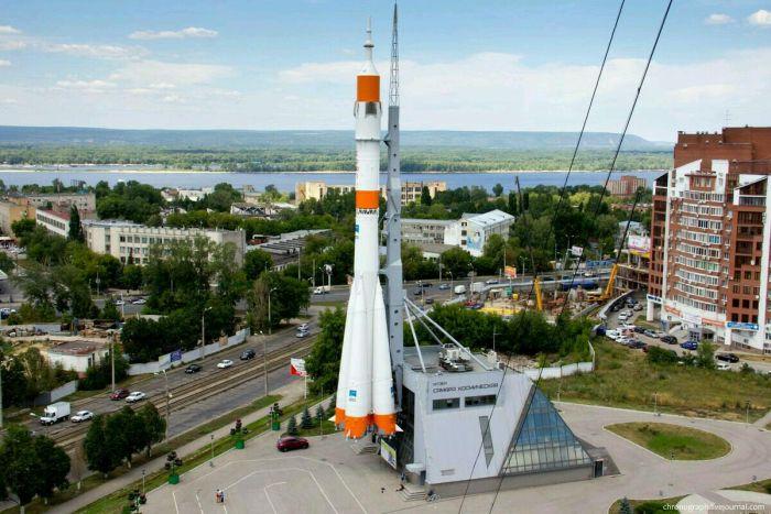 Ракета-носитель Союз в Самаре