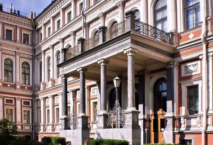 Николаевский дворец, фасад