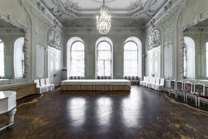Николаевский дворец внутри