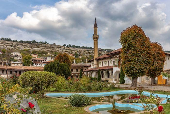 Резиденцией ханов