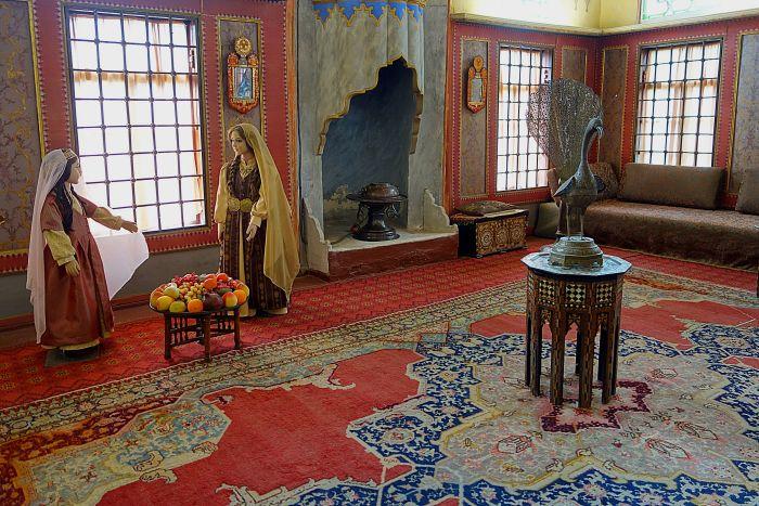 Гаремное помещение Бахчисарайского дворца