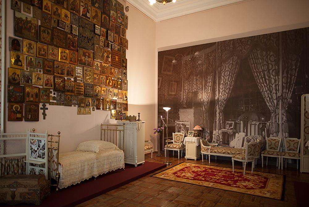 Спальня Александры Федоровны