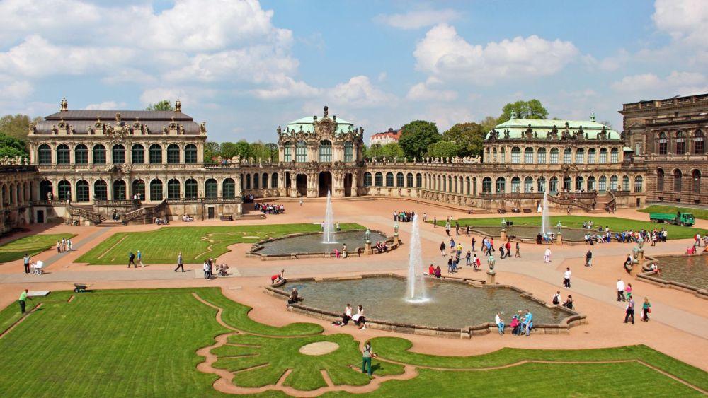 Дворцовый ансамбль в Дрездене
