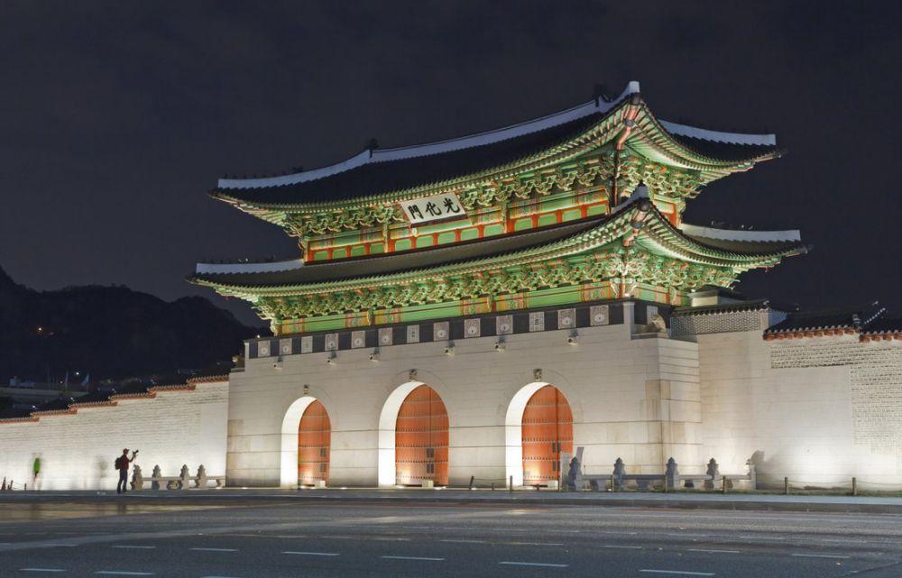 Кёнбоккун – культурный памятник Южной Кореи
