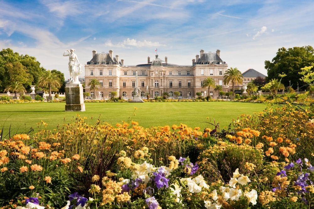 Люксембургский дворец и сад