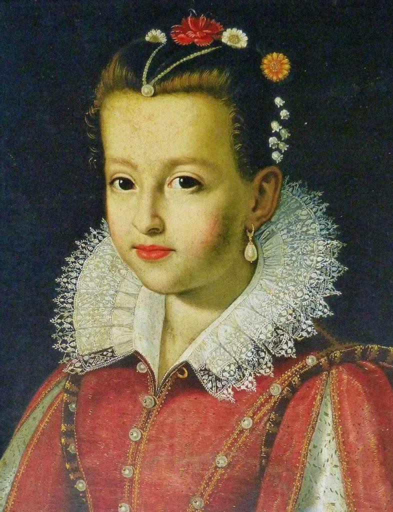 Мария Медичи в юности