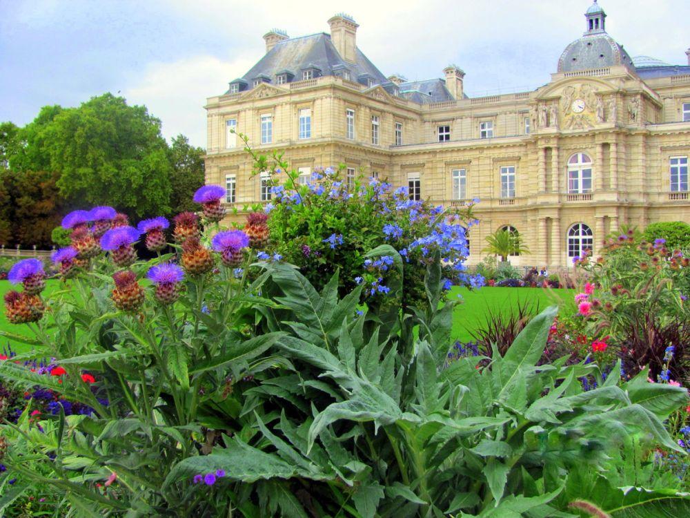 Дворец королевы в Париже