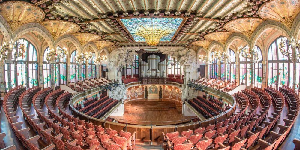 В Овальном зале проходят концерты классической современной музыки