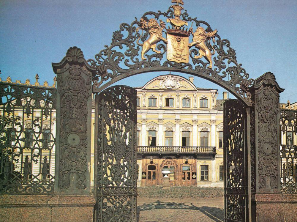 Дворец с мезонином