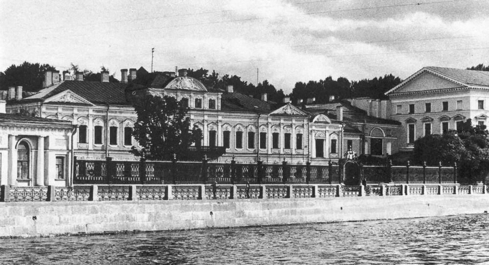 Дворец Шереметьевых, 19 век