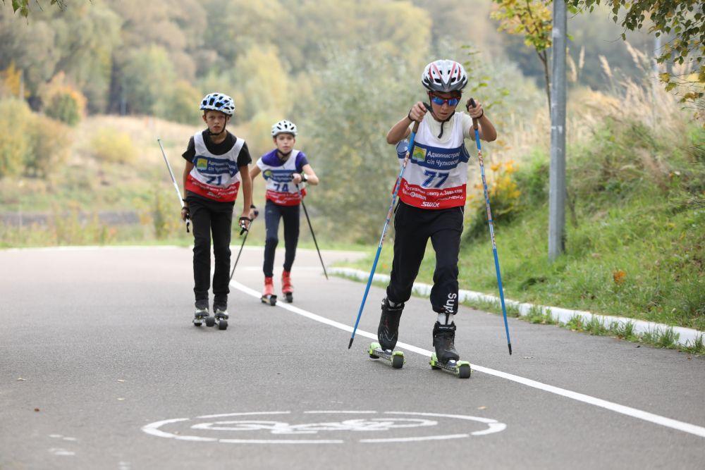 Вело-лыжероллерная трасса в Раменском